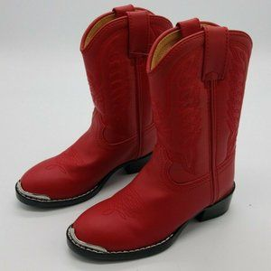 Durango Kids Western Boots Red New without Box Kid